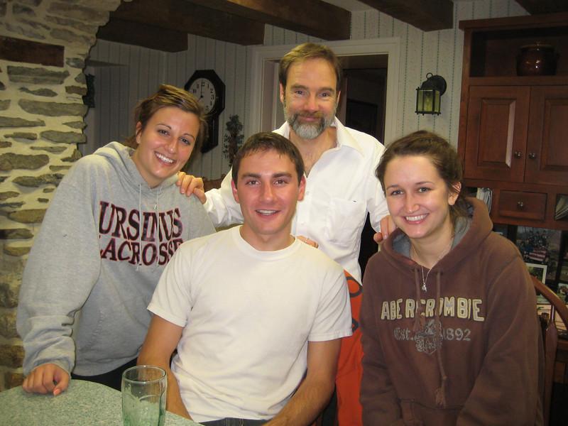 Oct 5, 2010. Rachael Kemmey (left), Joel, Nick Seminoff and Jamie Gallagher
