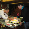 10-26-2010 Matt Thornton and Joe Mossman lighting the birthday candles.
