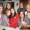 Dec. 1, 2010.   Lisa DiCroce (left), Tori Bright, Adam Seminoff, Lindsey Burke; Melissa Zirolli (left front), Rachael Kemmey, Elyse Marinelli and Sami Csaniz