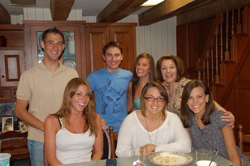 June 15, 2010. Group shot.<br /> <br />  Melissa Zirolli (left front), Katlyn Carullo, Jackie Cahill; Matt Thornton, Nick Seminoff, Rachael Kemmey and Dianne Anderson