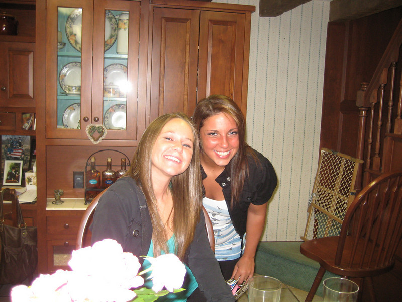 June 8, 2010. Best friends.<br /> <br />  Sami Csaniz and Elyse Marinelli.