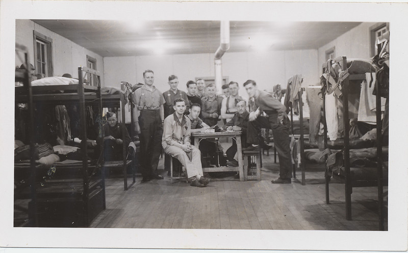 Group in barracks