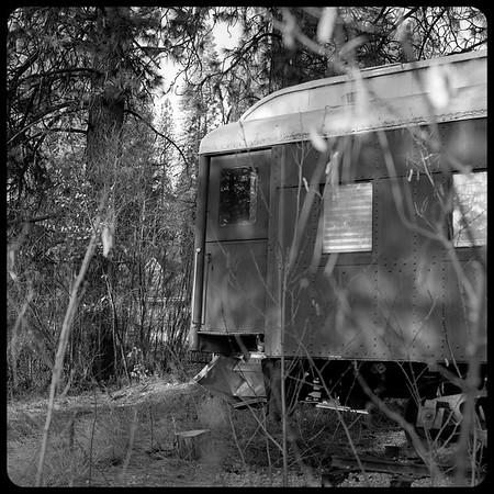 Abandoned Railcar, McCloud, California.