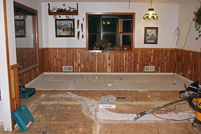 Dining and Kitchen Floor 2007
