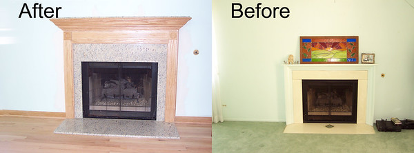 Micotto, Fireplace Before and Final (102)