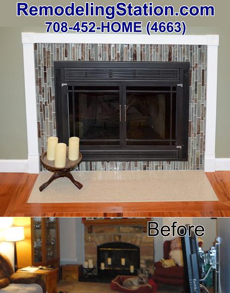 Bliss Kitchen 2013 Feb 19 Fireplace