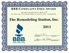 BBB Complaint Free 2011