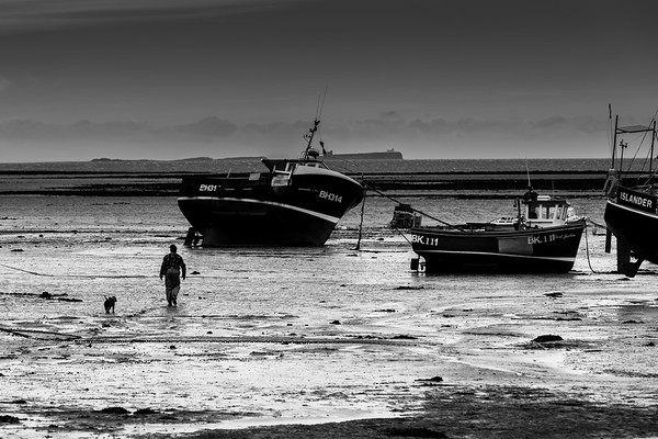 Remote Britain in black & white