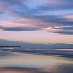 Evening on New Brighton Beach