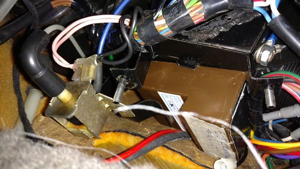 Removing Delanaire Mk2 amplifier