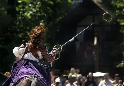 Catching the Rings, New York Renaissance Faire, 2004