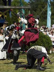 Attacked!, Michigan Renaissance Faire, 2005