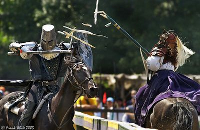 Jousting #3, New York Renaissance Faire, 2004