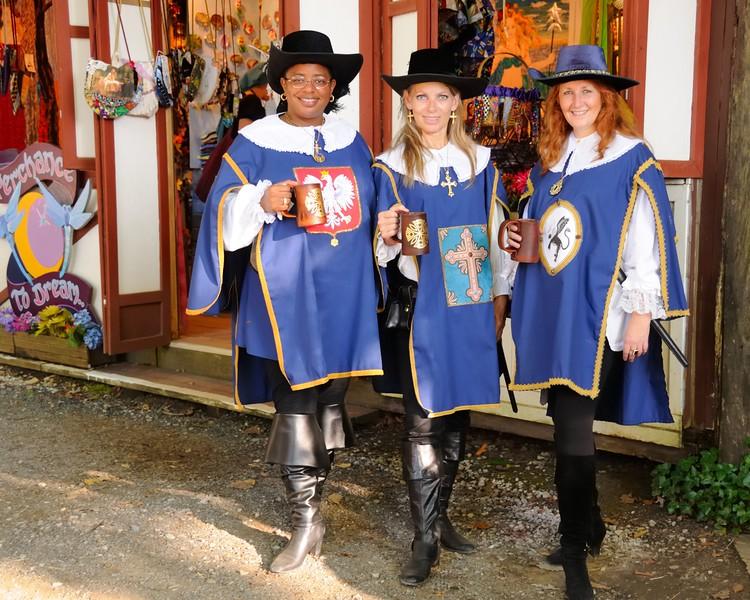 Three Musketeers ...