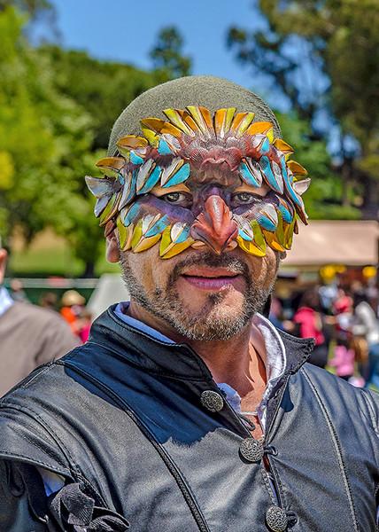 The masked man of Verona.