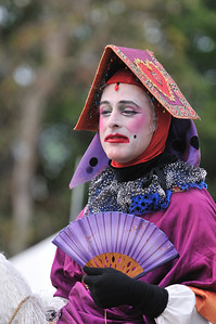 I saw this colorful character at the 2010 Florida Renaissance Festival.