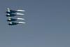 Russkije Vityazi (Orosz Vitézek) - Repülés egyvonalban - Szu-27