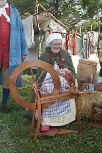 Spinning Wool Into Yarn