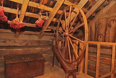 """Walking"" Spinning Wheels"