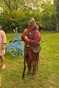 War of 1812 Period Reenactor