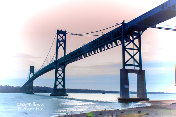 Mount Hope Bridge Under