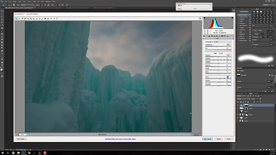 02-09-Ice Warrior-Creating a Background