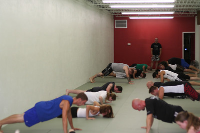 Pushups...probably everyone's least favorite exercise ;)
