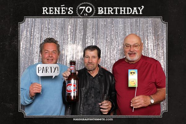 Rene's 70th Birthday Celebration