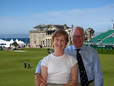 Colin and Trish Brown -- Colin (Captain of the R&A in 2010)