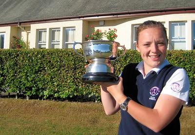 Megan West of Scotland Champion