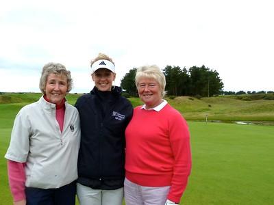 Carol Fell, Iona and Nancy MacGadie at Dundonald