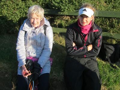 RLCGA president Eileen Gibb and Iona
