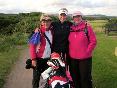 Anne Judge , Iona and Captain Maureen Woodhead