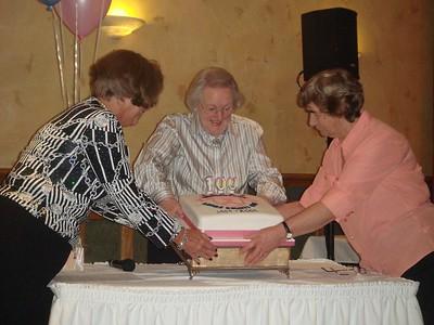 The Centenary Cake 2009