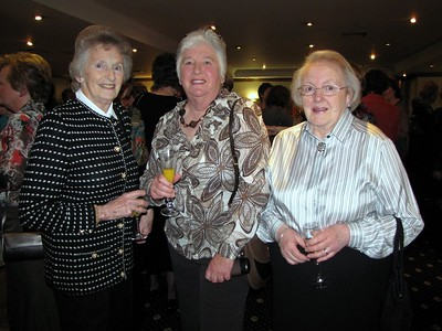 County Centenary Dinner 2009 -- Dorothea Hastings, Aileen Wilson and Nan Blair