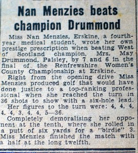 Winning the County Championship in 1955