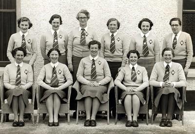 Scottish Team -- Royal Portrush 1955