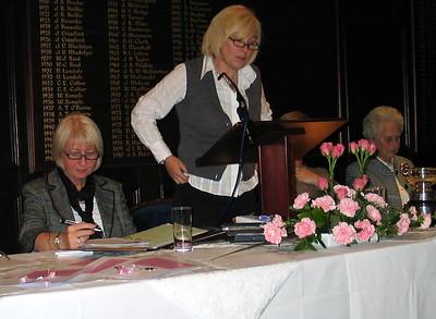 Wilma as RLCGA Junior Secretary