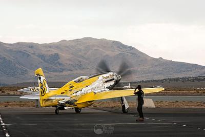 Race 38, Precious Metal, N-6WJ P-51XR Mustang Pilot Thom Richard