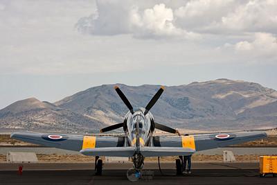 Race 924, N-924G TMK 20 Sea Fury Pilot Dennis Sanders
