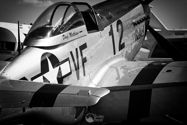 Race 12, The Rebel, N151CF P-51D Mustang Pilots Doug Matthews and John Currenti