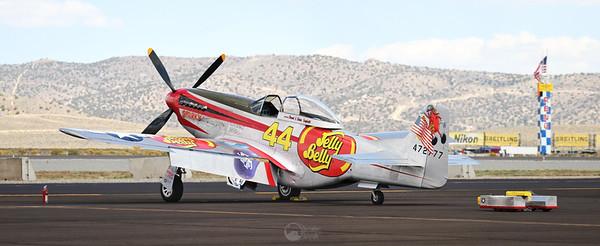 Race 44, Sparky, N151D P-51D Mustang Pilot Brant Seghetti