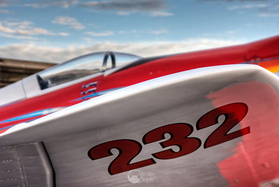 "Race 232, ""232,"" N-232MB F B II Sea Fury Pilot Robert ""Hoot"" Gibson"