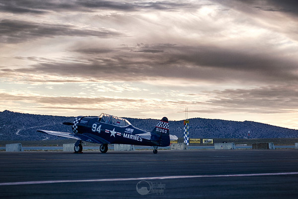 "#94, Midnight Express, N-694US SNJ-4 Texan Pilot Ardrianus ""Ott"" Clermont"