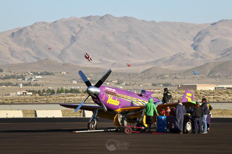 Race 5, Voodoo, N551VC<br /> P-51D Mustang<br /> Pilot Steven Hinton