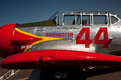 #44, Sixshooter AT-6G Pilot Wayne Cartwright Salem, OR  T-6 Class