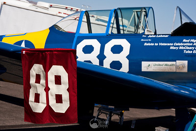 #88, Radial Velocity SNJ-5 Pilot John Lohmar Forth Worth, TX  T-6 Class