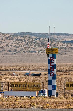The Reno Home Pylon The all important finish line.