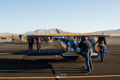 The Batplane, Race 8