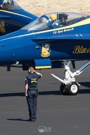 Blue Angel Salute
